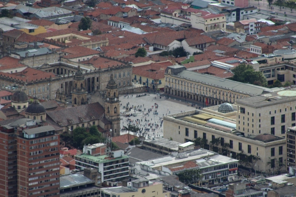 Bolivar square, an alternative angle!